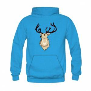 Bluza z kapturem dziecięca Fluffy deer
