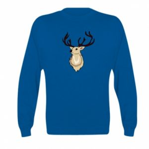 Kid's sweatshirt Fluffy deer