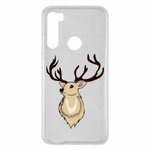 Xiaomi Redmi Note 8 Case Fluffy deer