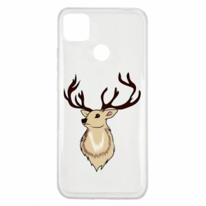Xiaomi Redmi 9c Case Fluffy deer