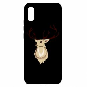 Xiaomi Redmi 9a Case Fluffy deer