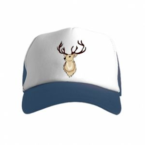 Kid's Trucker Hat Fluffy deer