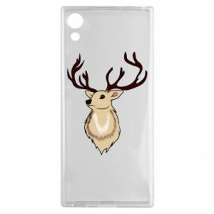 Sony Xperia XA1 Case Fluffy deer
