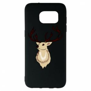 Samsung S7 EDGE Case Fluffy deer