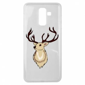 Samsung J8 2018 Case Fluffy deer