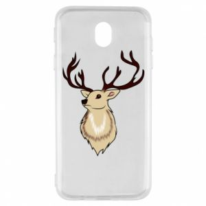 Samsung J7 2017 Case Fluffy deer