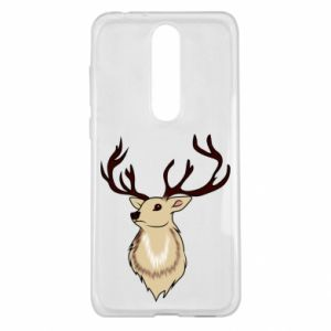 Nokia 5.1 Plus Case Fluffy deer