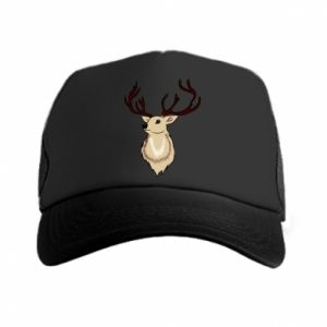 Trucker hat Fluffy deer