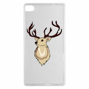 Huawei P8 Case Fluffy deer
