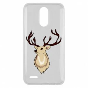 Etui na Lg K10 2017 Fluffy deer