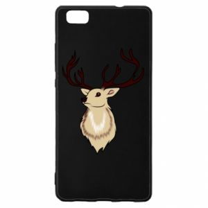 Huawei P8 Lite Case Fluffy deer