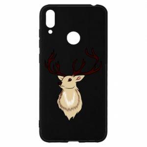 Etui na Huawei Y7 2019 Fluffy deer