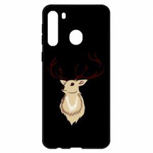 Etui na Samsung A21 Fluffy deer
