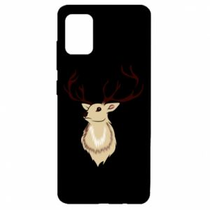 Etui na Samsung A51 Fluffy deer