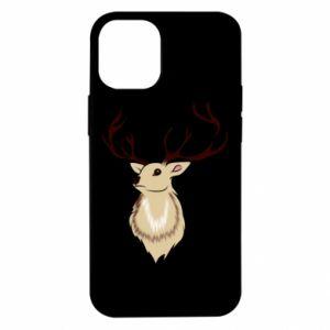 Etui na iPhone 12 Mini Fluffy deer