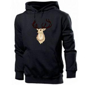 Men's hoodie Fluffy deer