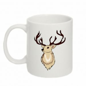 Mug 330ml Fluffy deer