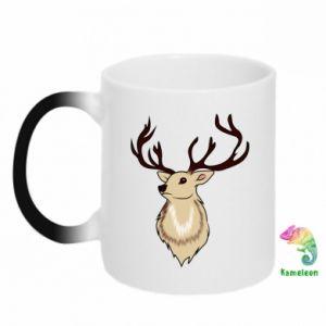 Kubek-magiczny Fluffy deer