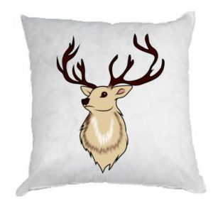 Pillow Fluffy deer