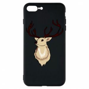 iPhone 7 Plus case Fluffy deer
