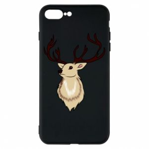 iPhone 8 Plus Case Fluffy deer