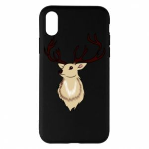 iPhone X/Xs Case Fluffy deer