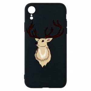 iPhone XR Case Fluffy deer