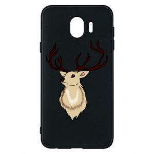 Samsung J4 Case Fluffy deer