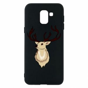 Samsung J6 Case Fluffy deer