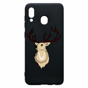Samsung A20 Case Fluffy deer