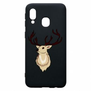 Samsung A40 Case Fluffy deer