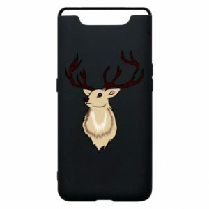 Samsung A80 Case Fluffy deer