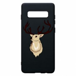 Samsung S10+ Case Fluffy deer