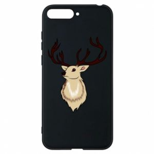 Huawei Y6 2018 Case Fluffy deer