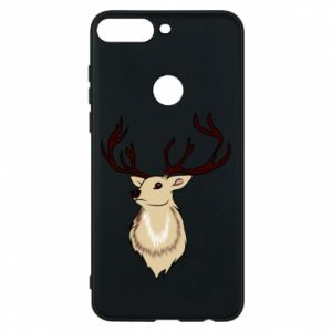 Huawei Y7 Prime 2018 Case Fluffy deer