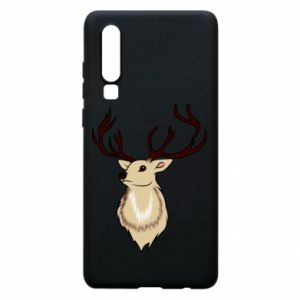 Huawei P30 Case Fluffy deer