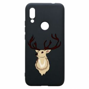 Xiaomi Redmi 7 Case Fluffy deer