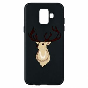Samsung A6 2018 Case Fluffy deer