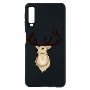Samsung A7 2018 Case Fluffy deer