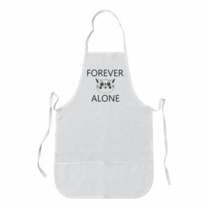 Apron Forever alone - PrintSalon