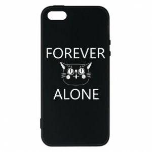 Phone case for iPhone 5/5S/SE Forever alone - PrintSalon