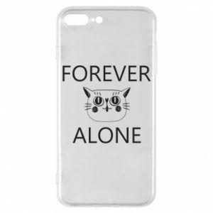 Phone case for iPhone 7 Plus Forever alone - PrintSalon
