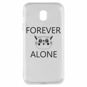 Phone case for Samsung J3 2017 Forever alone - PrintSalon