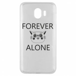 Phone case for Samsung J4 Forever alone - PrintSalon