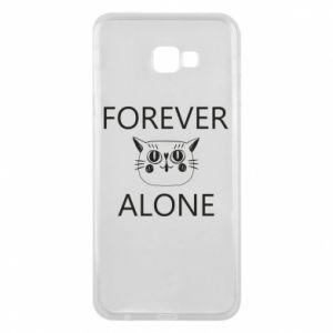 Phone case for Samsung J4 Plus 2018 Forever alone - PrintSalon