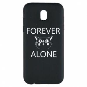 Phone case for Samsung J5 2017 Forever alone - PrintSalon