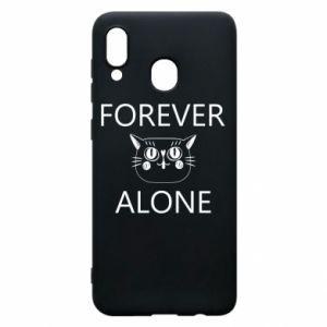 Etui na Samsung A20 Forever alone