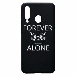 Phone case for Samsung A60 Forever alone - PrintSalon