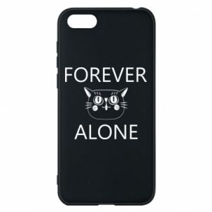 Phone case for Huawei Y5 2018 Forever alone - PrintSalon
