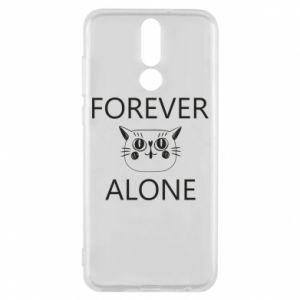 Phone case for Huawei Mate 10 Lite Forever alone - PrintSalon